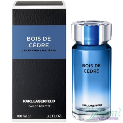 Karl Lagerfeld Bois de Cedre EDT 100ml за Мъже Мъжки Парфюми