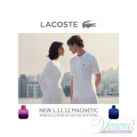 Lacoste Eau de Lacoste L.12.12 Pour Lui Magnetic EDT 100ml за Мъже БЕЗ ОПАКОВКА