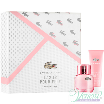 Lacoste Eau de Lacoste L.12.12 Pour Elle Sparkling Комплект (EDT 30ml + SG 50ml) за Жени Дамски Комплекти