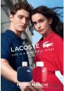 Lacoste Eau de Lacoste L.12.12 Pour Lui French Panache EDT 100ml за Мъже БЕЗ ОПАКОВКА Мъжки Парфюми без опаковка