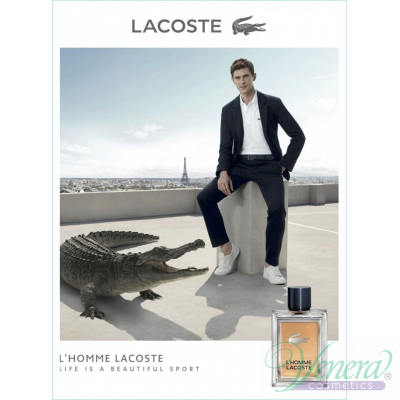 Lacoste L'Homme Lacoste Комплект (EDT 100ml + SG 150ml) за Мъже Мъжки Комплекти