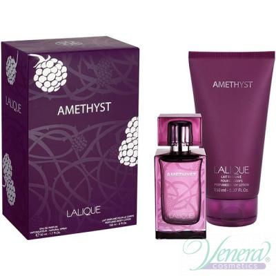 Lalique Amethyst Комплект (EDP 50ml + BL 150ml) за Жени Дамски Комплекти