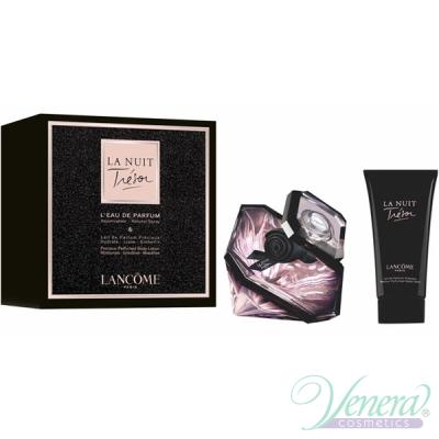 Lancome La Nuit Tresor Комплект (EDP 50ml + BL 50ml) за Жени Дамски Комплекти