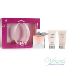 Lancome La Vie Est Belle Комплект (EDP 30ml + BL 50ml + SG 50ml) за Жени