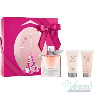 Lancome La Vie Est Belle Комплект (EDP 50ml + BL 50ml + SG 50ml) за Жени Дамски Комплекти