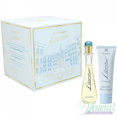 Laura Biagiotti Laura Комплект (EDT 25ml + Body Cream 50ml) за Жени