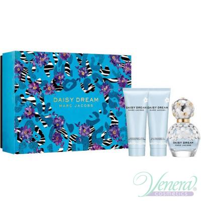 Marc Jacobs Daisy Dream Комплект (EDT 50ml + BL 75ml + SG 75ml) за Жени Дамски Комплекти