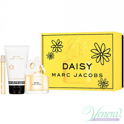 Marc Jacobs Daisy Комплект (EDT 100ml + EDT 10ml + BL 150ml) за Жени Дамски Комплекти