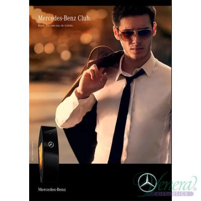 Mercedes-Benz Club Black EDT 100ml за Мъже Мъжки Парфюми