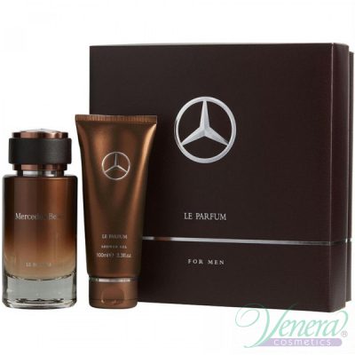 Mercedes-Benz Le Parfum Комплект (EDP 120ml + SG 100ml) за Мъже Мъжки Комплект