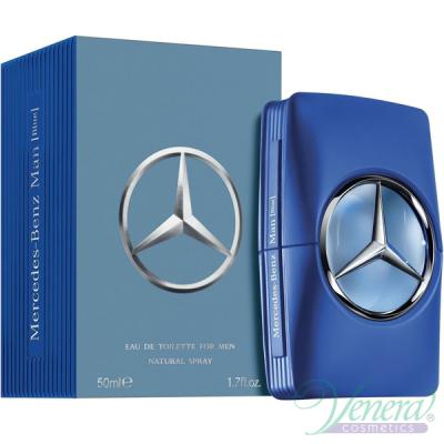 Mercedes-Benz Man Blue EDT 50ml за Мъже Мъжки Парфюми