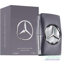 Mercedes-Benz Man Grey EDT 50ml за Мъже Мъжки Парфюми