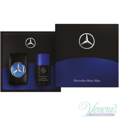 Mercedes-Benz Man Комплект (EDT 100ml + Deo Stick 75ml) за Мъже Мъжки Комплекти