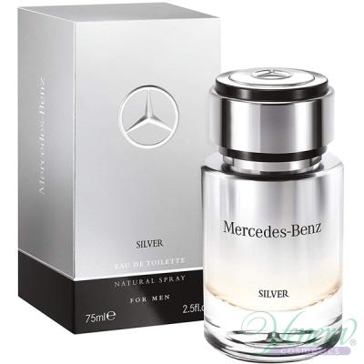 Mercedes-Benz Silver EDT 75ml за Мъже