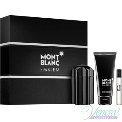 Mont Blanc Emblem Set (EDT 100ml + AS Balm...