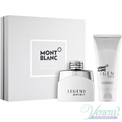 Mont Blanc Legend Spirit Комплект (EDT 50ml + AS Blam 100ml) за Мъже Мъжки Комплекти