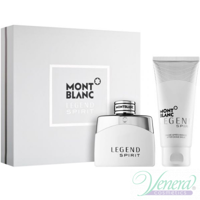Mont Blanc Legend Spirit Комплект (EDT 50ml + AS Blam 100ml) за Мъже