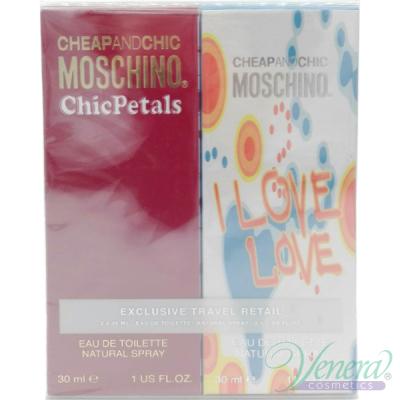 Moschino Cheap & Chic Комплект (Chic Petals EDT 30ml + I Love Love EDT 30ml) за Жени Дамски Kомплекти