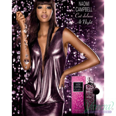 Naomi Campbell Cat Deluxe At Night EDT 15ml за Жени Дамски Парфюми