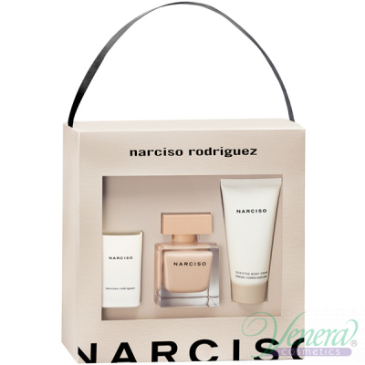 Narciso Rodriguez Narciso Poudree Комплект (EDP 50ml + Body Cream 50ml + Свещ) за Жени