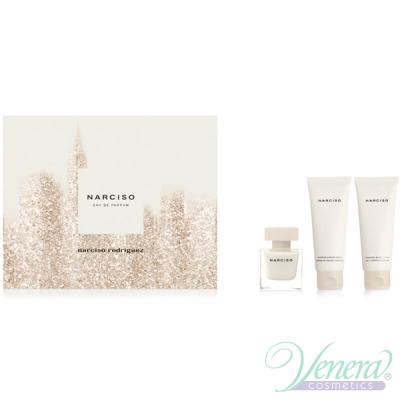 Narciso Rodriguez Narciso Комплект (EDP 50ml + BL 75ml + SG 75ml) за Жени Дамски Комплекти