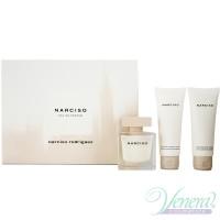 Narciso Rodriguez Narciso Set (EDP 90ml + BL 75ml + SG 75ml) for Women Women's Gift sets