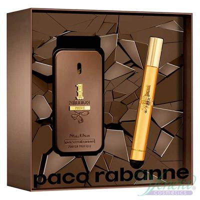 Paco Rabanne 1 Million Prive Комплект (EDP 50ml + EDP 10ml) за Мъже Мъжки Комплекти