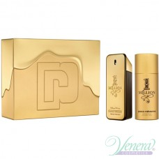 Paco Rabanne 1 Million Комплект (EDT 100ml + Deo Spray 150ml) за Мъже