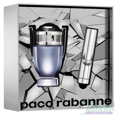 Paco Rabanne Invictus Комплект (EDT 50ml + EDT 10ml) за Мъже Мъжки комплекти