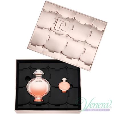 Paco Rabanne Olympea Aqua Eau de Parfum Legere Комплект (EDP 80ml + EDP 6ml) за Жени Дамски Комплекти