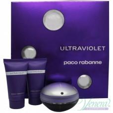 Paco Rabanne Ultraviolet Комплект (EDP 50ml + BL 50ml + SG 50ml) за Жени