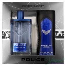 Police Cosmopolitan Комплект (EDT 100ml + SG 250ml) за Мъже