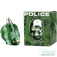 Police To Be Camouflage EDT 125ml за Мъже