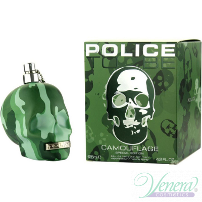Police To Be Camouflage EDT 75ml за Мъже Мъжки Парфюми