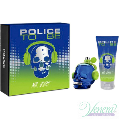 Police To Be Mr Beat Set (EDT 75ml + SG 100ml) for Men