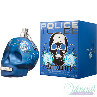Police To Be Tattooart EDT 125ml за Мъже