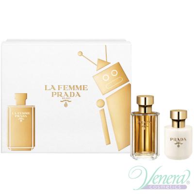 Prada La Femme Комплект (EDP 50ml + BL 100ml) за Жени Дамски Комплекти