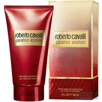 Roberto Cavalli Paradiso Assoluto Shower Gel 150ml за Жени Дамски продукти за лице и тяло