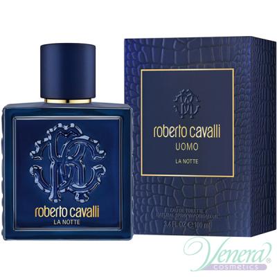 Roberto Cavalli Uomo La Notte EDT 100ml за Мъже