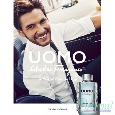 Salvatore Ferragamo Uomo Casual Life EDT 50ml за Мъже Мъжки Парфюми