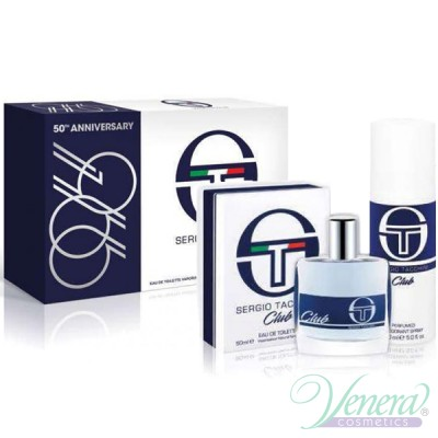 Sergio Tacchini Club Комплект (EDT 50ml + Deo Spray 150ml) за Мъже Мъжки Комплекти