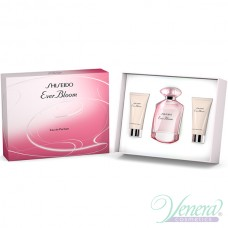 Shiseido Ever Bloom Комплект (EDP 50ml + BL 50ml + SG 50ml) за Жени