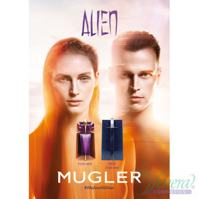 Thierry Mugler Alien Man Комплект (EDT 100ml + SG 50ml) за Мъже