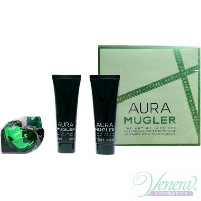 Thierry Mugler Aura Mugler Комплект (EDP 50ml + BL 50ml + SG 50ml) за Жени Дамски Комплекти