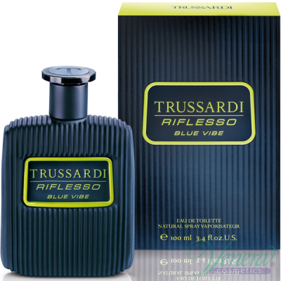 Trussardi Riflesso Blue Vibe EDT 100ml за Мъже БЕЗ ОПАКОВКА