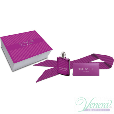 Trussardi Sound of Donna Комплект (EDP 100ml + Tie) за Жени Дамски парфюми без опаковка
