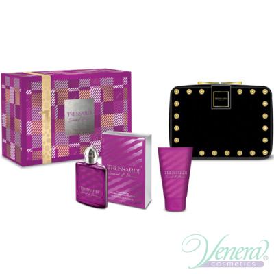 Trussardi Sound of Donna Комплект (EDP 100ml + BL 100ml + Bag) за Жени Дамски парфюми без опаковка