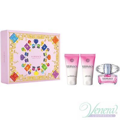 Versace Bright Crystal Комплект (EDT 50ml + BL 50ml + SG 50ml) за Жени За Жени