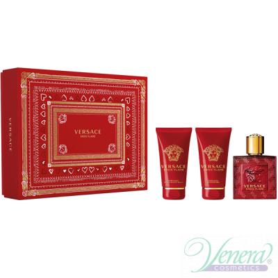 Versace Eros Flame Комплект (EDP 50ml + AS...