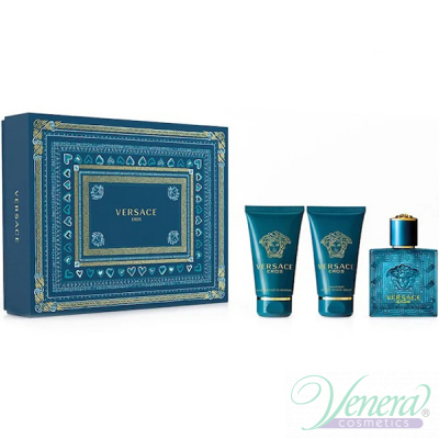 Versace Eros Комплект (EDT 50ml + AS Balm ...